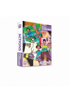 Miracle Flashcards - Actions-Box 45 Cards