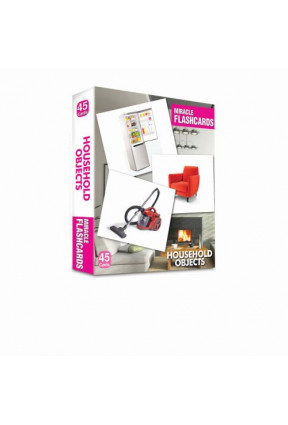 Miracle Flashcards - Household Objects Box 45 Cards