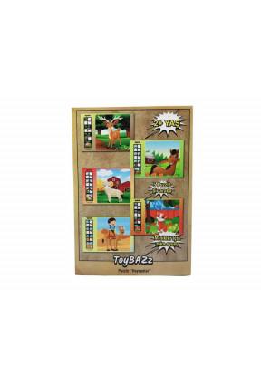 """ToyBAZz Puzzle """"Hayvanlar"""""""
