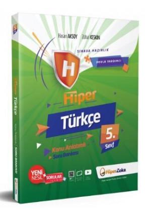 Hiper Zeka 5. Sınıf Türkçe Hiper Konu Anlatımlı Soru Bankası