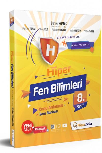 Hiper Zeka 8. Sınıf Fen Bilimleri Hiper Konu Anlatımlı Soru Bankası