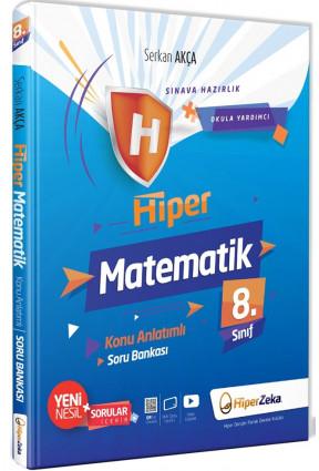 Hiper Zeka 8. Sınıf Matematik Hiper Konu Anlatımlı Soru Bankası