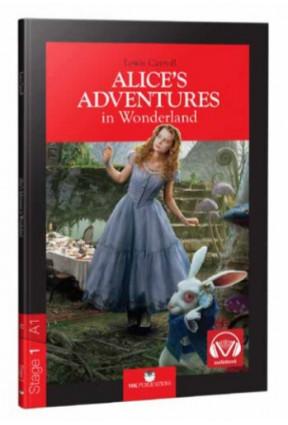 Stage 1 Alices Adventures In Wonderland İngilizce Hikaye
