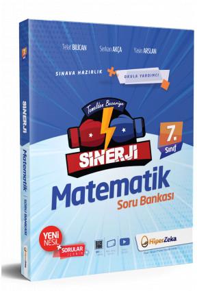 Hiper Zeka Yayınları 8. Sınıf Matematik Sinerji Soru Bankası