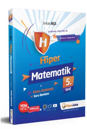Hiper Zeka 5. Sınıf Hiper Matematik Konu Anlatımlı Soru Bankası