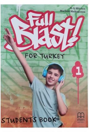 Full Blast for Turkey 1 Student's Book + Workbook & Grammar Book